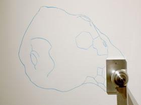 Digital Sculpture Is Oriented Toward North