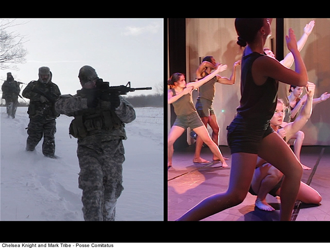 Chelsea Knight and Mark Tribe - Posse Comitatus