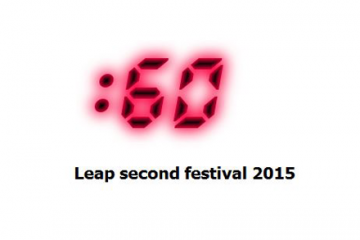 Leap Second Festival Call